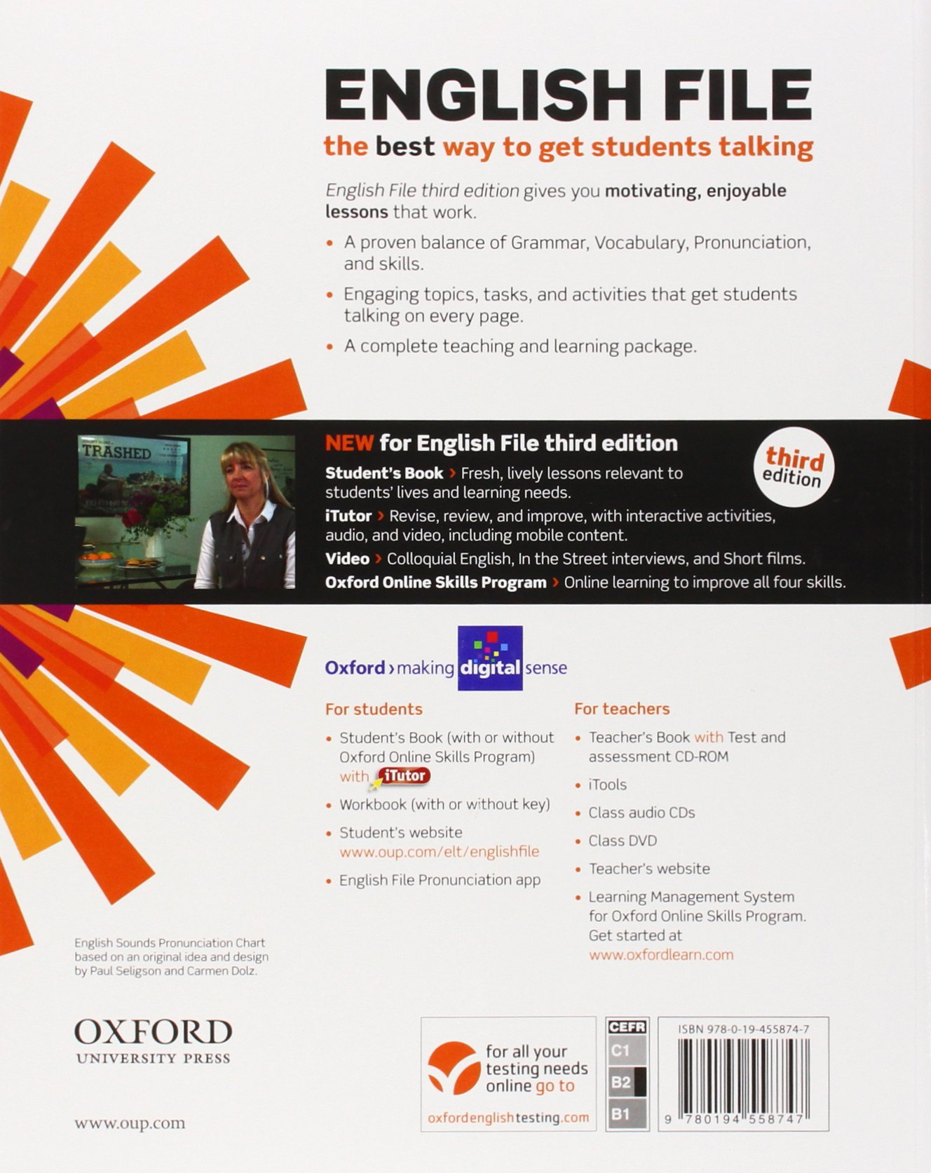 English file third edition english file digital upper intermediate english file third edition english file digital upper intermediate students book itutor per le scuole superiori con espansione online amazon fandeluxe Images
