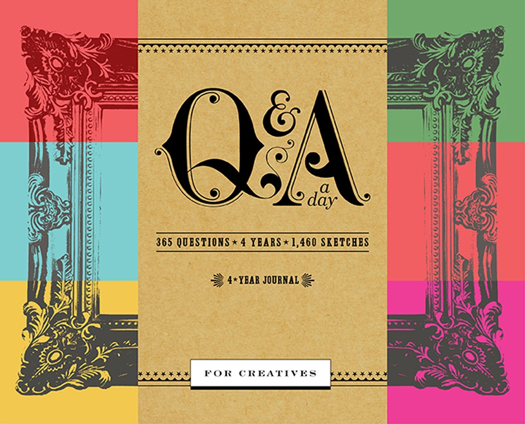 qa a day for creatives a 4 year journal