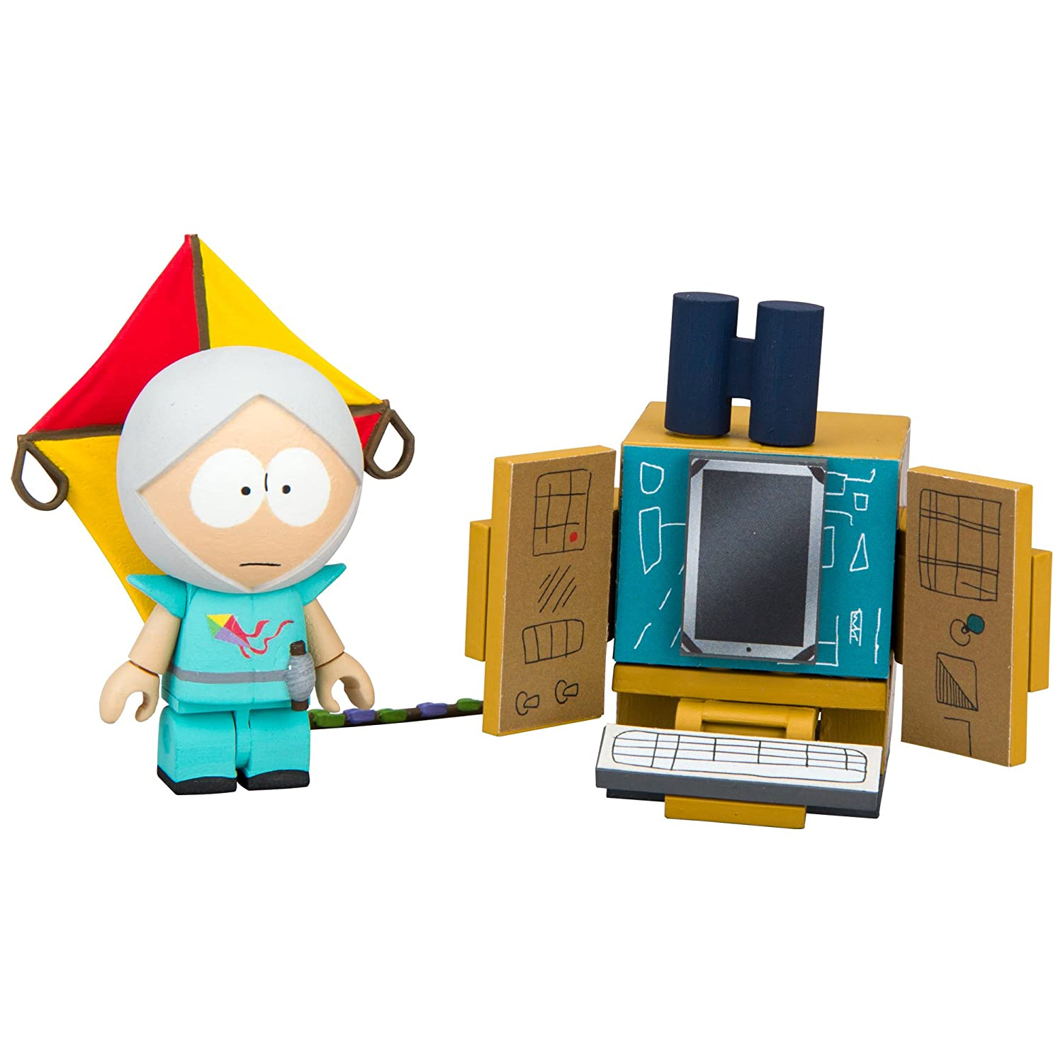 South Park 'The Human Kite' Kyle with Supercomputer Micro Construction Set Playset Mcfarlane Toys 12861-1