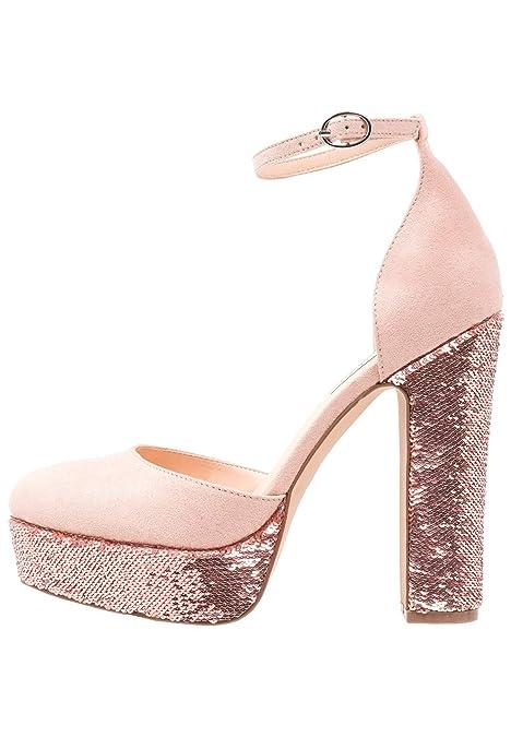 Even Odd Zapatos de Tacón de Bloque - Tacones de Mujer - Cómodas Sandalias 95ae87485530