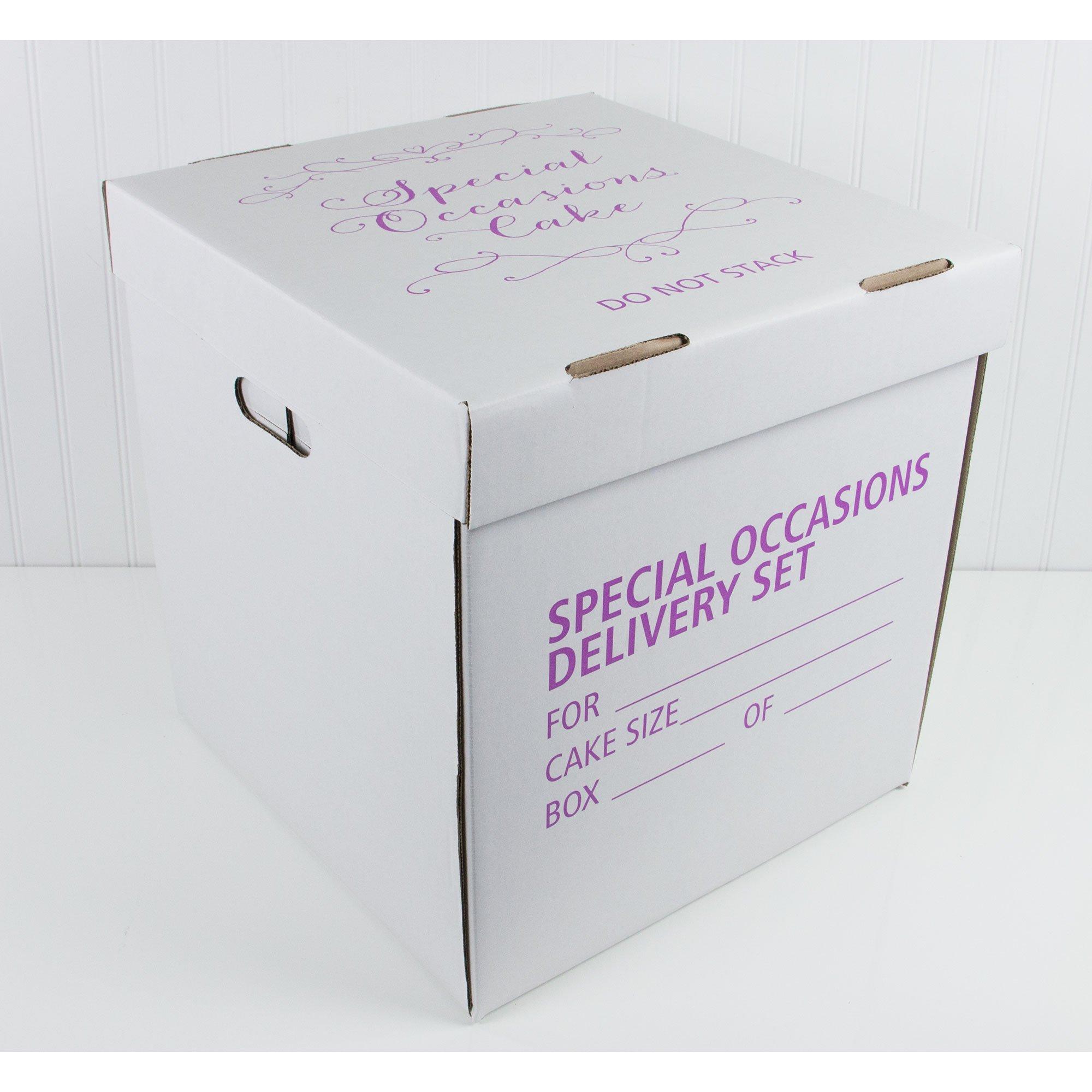 Wedding Cake Box, 15 x 15 x 16 Inches by Decopac