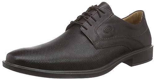 1928 - zapato oxford de cuero hombre, color marrón, talla 45 Jomos