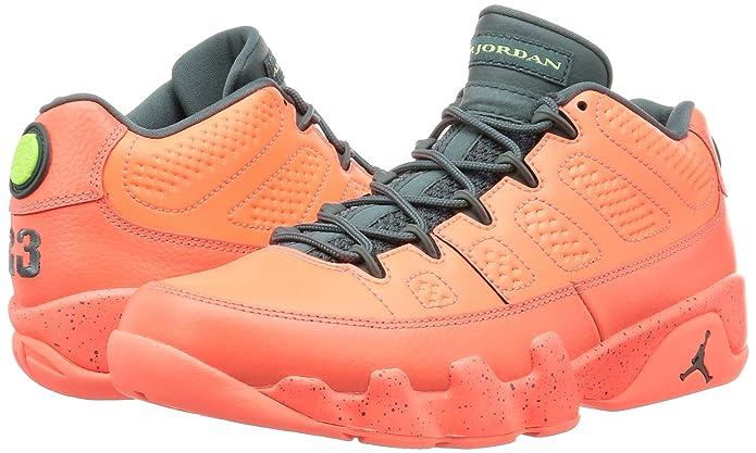big sale 903b4 59a52 Amazon.com   Nike Mens Air Jordan 9 Retro Low Mango Bright Mango Leather  Size 14   Basketball