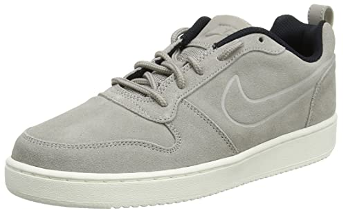 premium selection 5cef0 aac64 NIKE Mens Court Borough Low Trainers, Grey Cobblestone-Black, 7.5 UK 42 EU