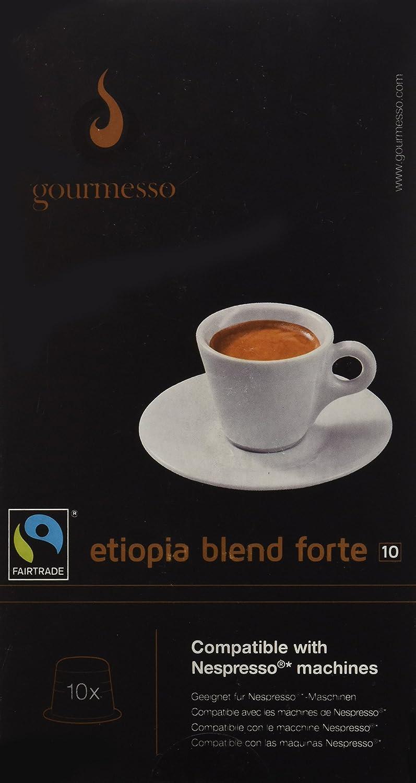 Gourmesso Etiopia Blend Forte (10 Capsulas): Amazon.es: Alimentación y bebidas