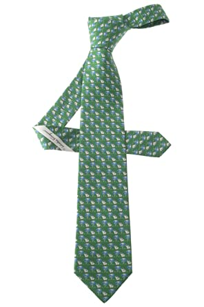 Salvatore Ferragamo - Corbata - para hombre Verde verde oscuro ...