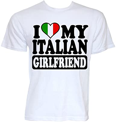 77593ff5 Beat Tees Clothing Mens Funny Cool Novelty Italian Girlfriend Italy Flag  Joke Slogan Gifts T-Shirts: Amazon.co.uk: Clothing