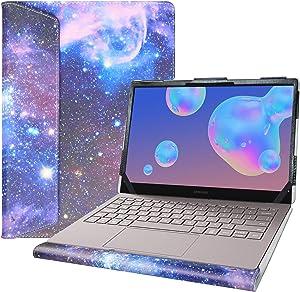 "Alapmk Protective Case for 13.3"" Samsung Galaxy Book S/Galaxy Book Ion 13 NP930XCJ/Galaxy Book Flex α 13 NP730QCJ & ASUS ZenBook 13 UX325JA Laptop[Not fit Galaxy Book Flex 13 NP930QCG],Galaxy"