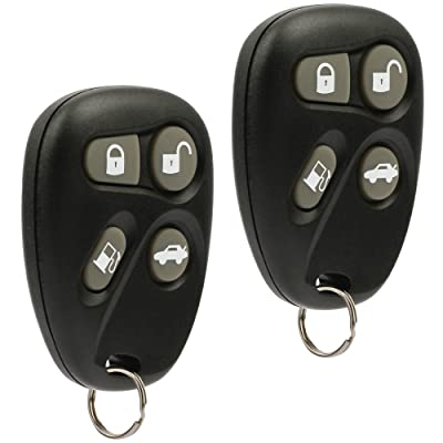 Car Key Fob Keyless Entry Remote fits 1998 1999 2000 Cadillac Deville Eldorado Seville (KOBUT1BT, 25656444), Set of 2: Automotive
