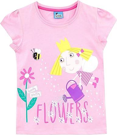 Ben & Hollys Little Kingdom - Camiseta para niñas - El pequeño ...