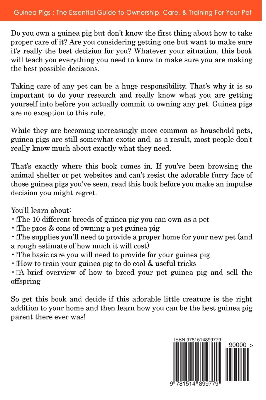 Guinea pigs the essential guide to ownership care training for guinea pigs the essential guide to ownership care training for your pet guinea pig care kate h pellham 9781514899779 amazon books solutioingenieria Image collections