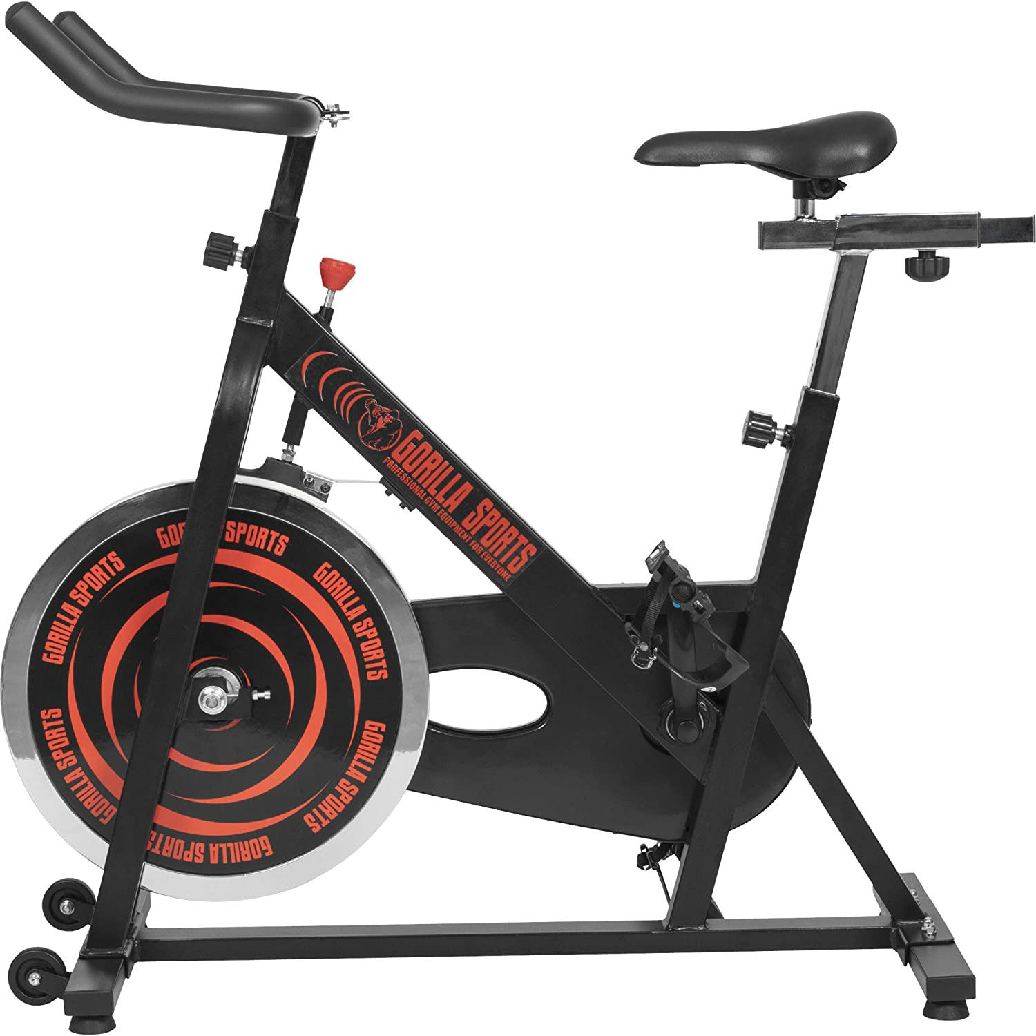 GORILLA SPORTS- Indoor Cycling Bike mit 13 kg Schwungrad bei amazon kaufen