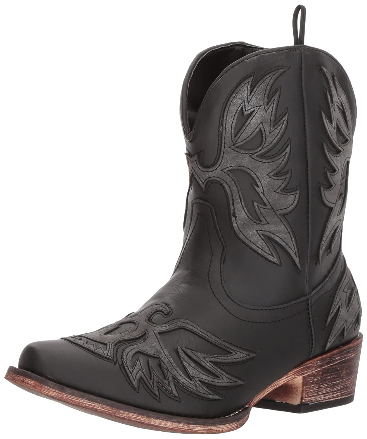 Roper Women's Amelia Western Boot B074D49GB4 10.5 B(M) US|Black
