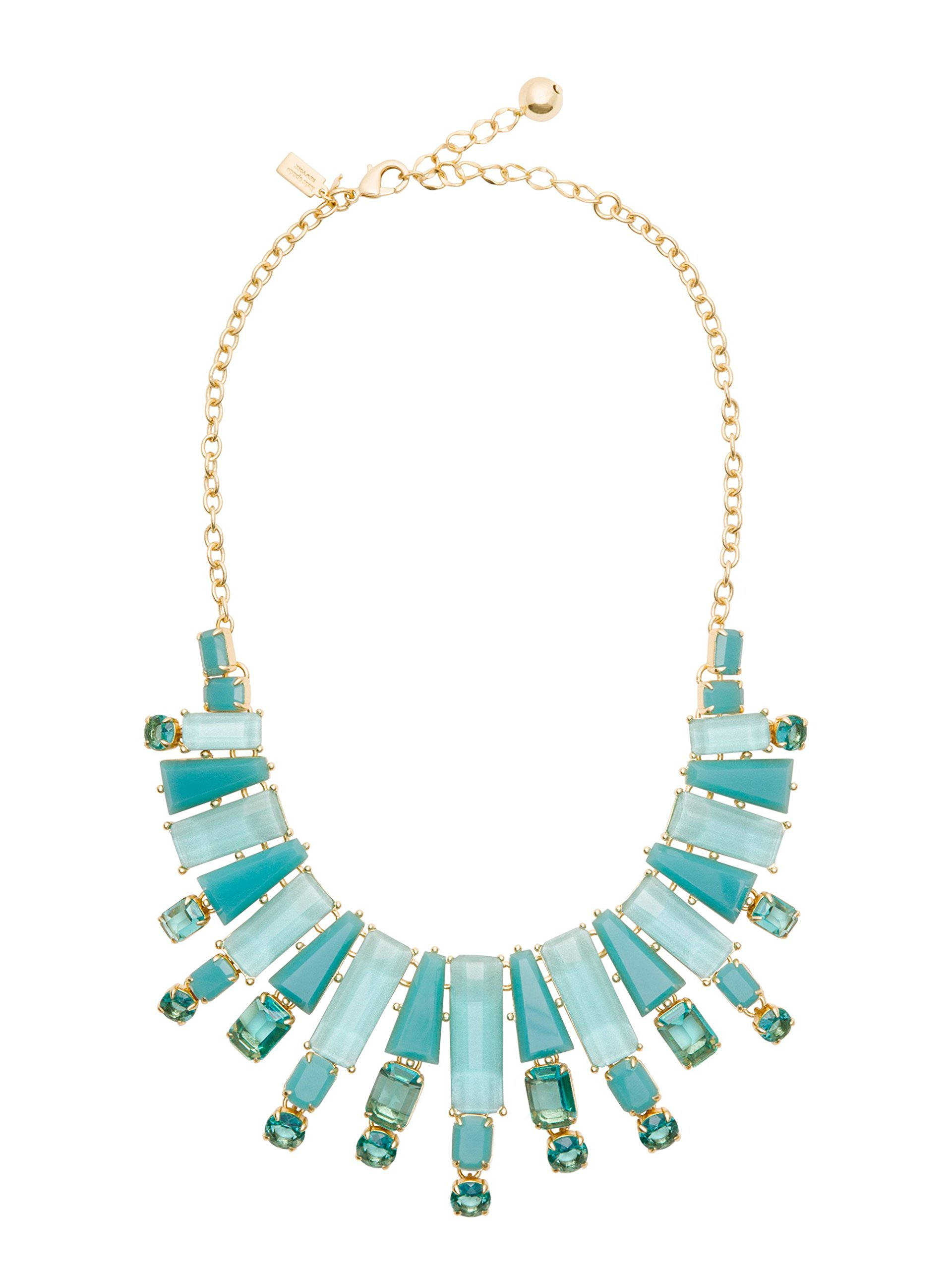 Kate Spade 'Beach Gem' Statement Necklace, Aqua Multi