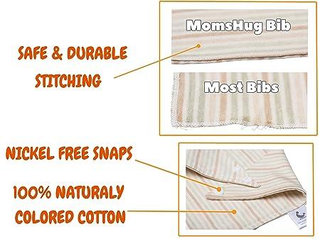 Amazon.com: 5-Pack elegante bebé Bandana baberos 2 capas ...
