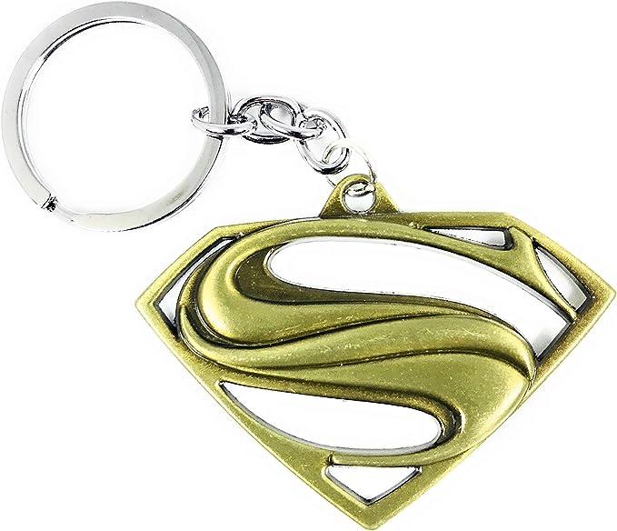 DC Comics Superhero Superman Logo Alloy Key Chains Keychain Keyfob Keyring Gifts