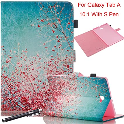 Amazon.com: Galaxy Tab A 10.1 con S Pen Case, newshine Slim ...