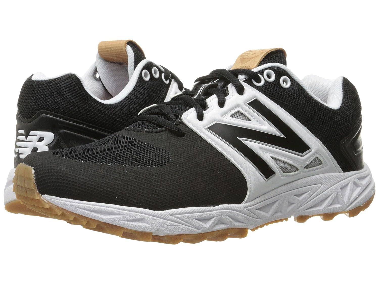 (ニューバランス) New Balance メンズ野球ベースボールシューズ靴 T3000v3 Black/White 8 (26cm) D Medium B078V1W9RZ