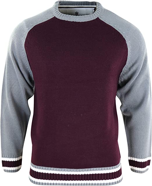 Soulstar Mens Knitted Cardigan Thick Sweater Full Zip Warm Jumper Winter Coat