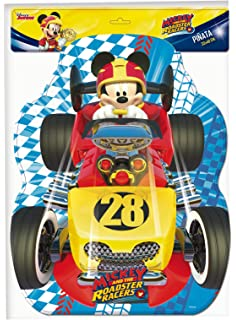 Verbetena, 014001349, piñata silueta disney mickey mouse y los super pilotos, dimensiones 33x46