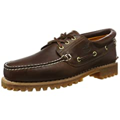 Timberland 3-Eye Classic Lug Shoes: 30003 Brown Pull Up