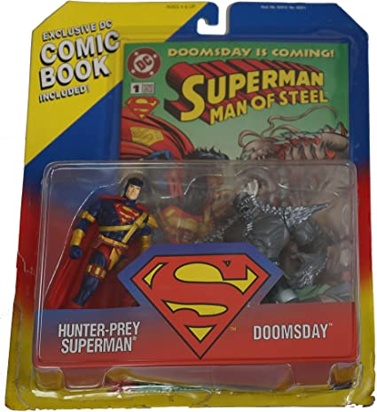 Amazon Com Superman Man Of Steel Limited Edition 2 Pack Action