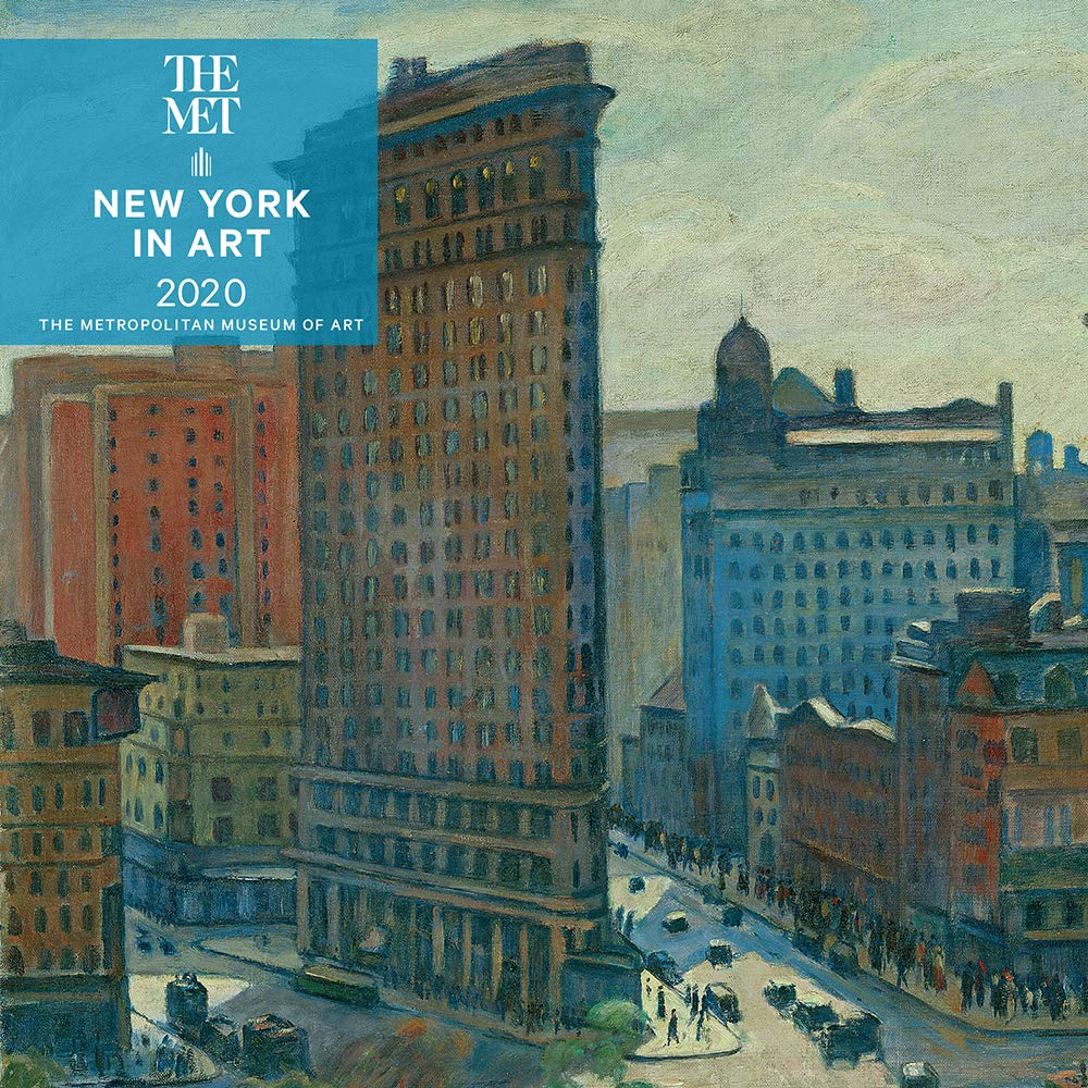 New Artists 2020 New York in Art 2020 Mini Wall Calendar: The Metropolitan Museum