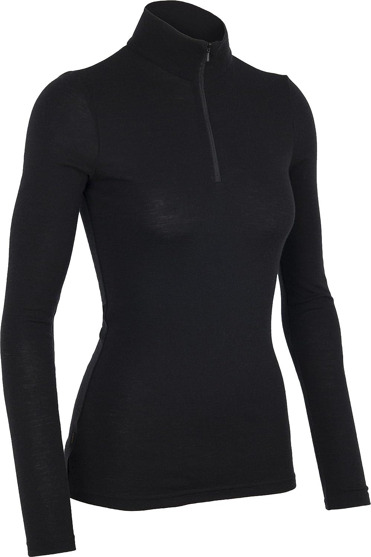 2c1c2dafe80a5 Icebreaker Women's Everyday Long Sleeve Half Zip Merino Jersey:  Amazon.co.uk: Sports & Outdoors