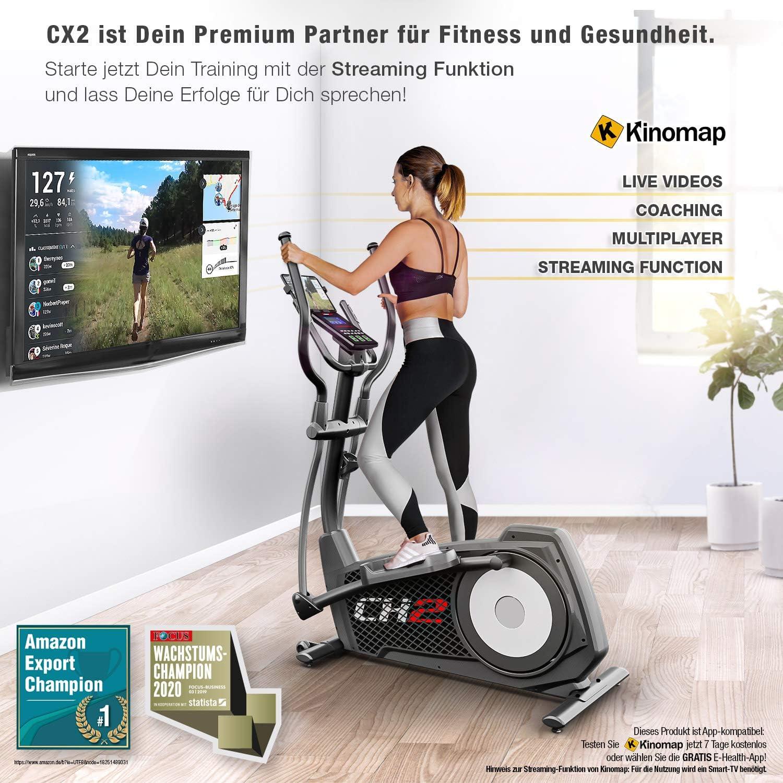 Sportstech CX2 Crosstrainer - Bluetooth + Funktionalität