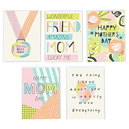 hallmark studio ink funny mothers day greeting card assortment for friends family and mom