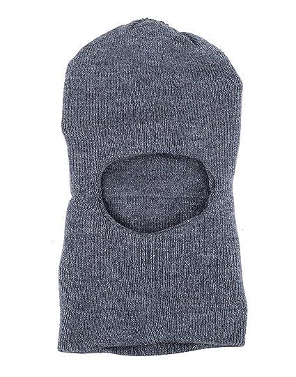 081357558c0 Zacharias Men Monkey Cap Woolen Grey  Amazon.in  Clothing   Accessories