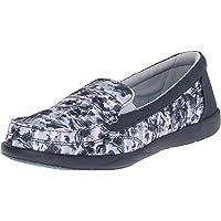 crocs Women's Walu II Striped Flora Loafers