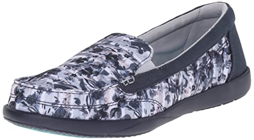 fc0a9f26168 Image Unavailable. Image not available for. Colour  crocs Women s Walu II  Striped Floral Loafer ...