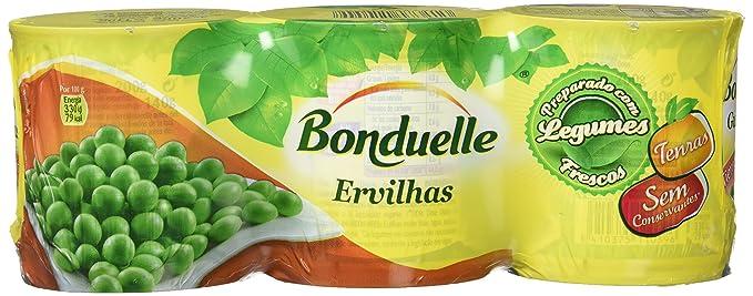 Bonduelle - Guisantes, 200 gr, Pack de 8
