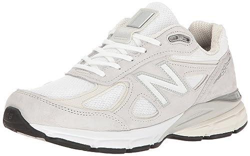 1ff6b3a8cfb47 New Balance Men's 990 V4 Running Shoe, Cloud/White, 12.5 D US ...