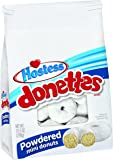 Hostess Donettes Mini Donuts, Powdered, 10.5 Ounce (Pack of 6)