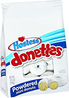 product image for Hostess Donettes Mini Donuts, Powdered, 10.5 Ounce (Pack of 6)