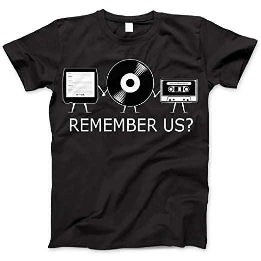 Vintage Audio Remember Us Nostalgic T-Shirt