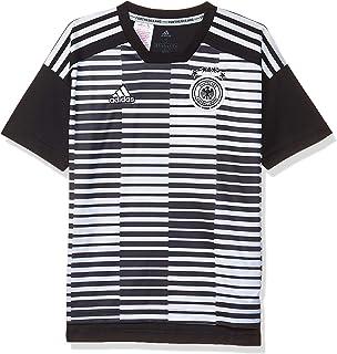 adidas Kinder UEFA EURO 2016 DFB Auswärtstrikot Replica, Gr. 128 (7 8 ans), Grau (Gris Dark Grey HeatherOff WhiteBase Green S15)
