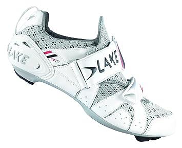 Lake TX212 - Zapatillas de triatlón blanco, blanco, 38: Amazon.es: Deportes y aire libre