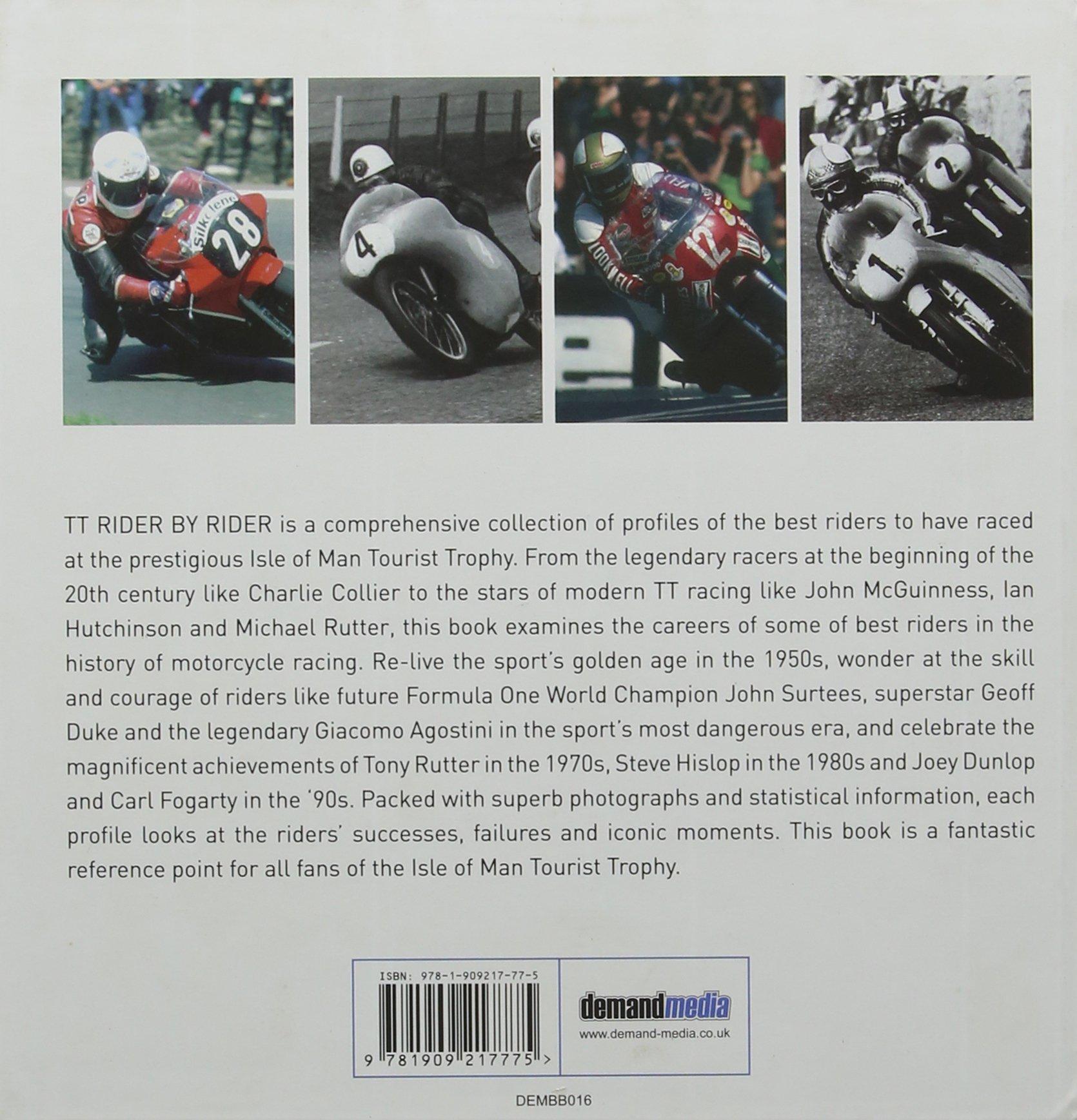 TT Rider by Rider (Little Book of): Amazon.es: McCann, Liam ...