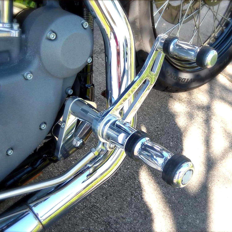 Polishing Forward Controls For Harley Dyna Super Glide 2000-2015 FXD FXDX Model