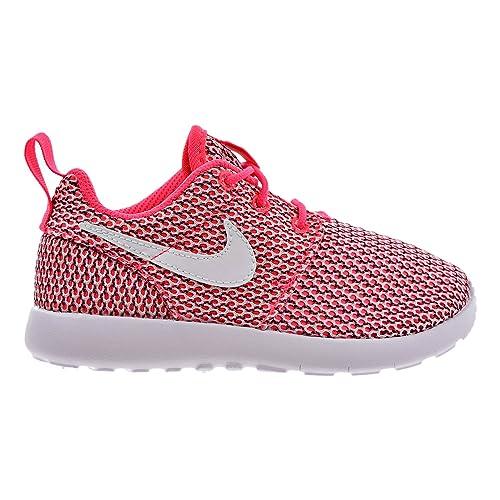 Nike Roshe Run Print PinkWhite Women |