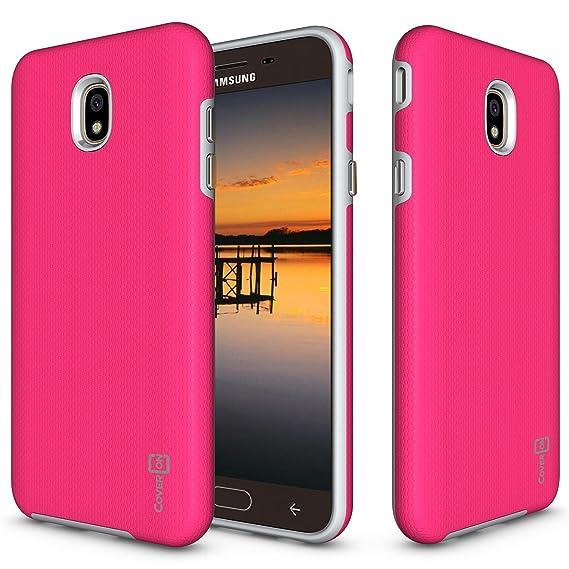 outlet store 4a999 b140a Samsung Galaxy J7 V 2nd Generation Case, Galaxy J7 2018 / J7 Refine / J7  Star / J7 Aero / J7 Crown Case, CoverON [Rugged Series] Shock Absorbing  Phone ...