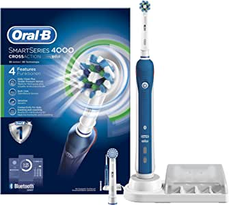 Oral-B Smart Series 4000 - Cepillo de Dientes Eléctrico con Tecnología Braun: Amazon.es: Salud y cuidado personal