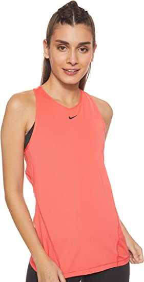 Nike W NP Tank all Over Mesh Canotta Donna