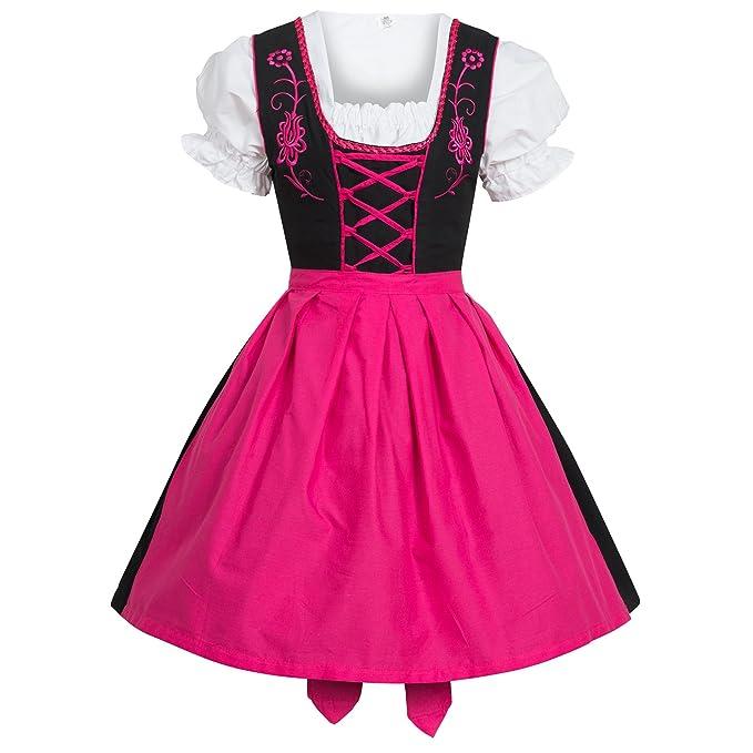 Gaudi-Leatherts - Vestido Dirndl - Trapecio - para Mujer ...