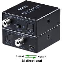 Tendak SPDIF Convertisseur Optique Toslink vers coaxial Optique SPDIF Toslink