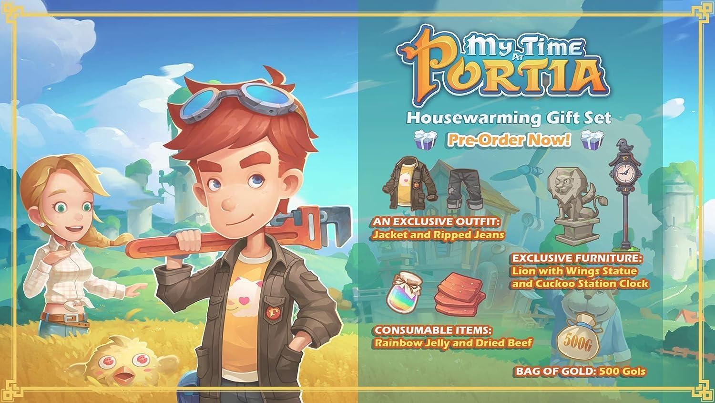 My Time at Portia for Nintendo Switch [USA]: Amazon.es: Ui ...