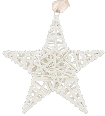 Mayrich 12 country rustic woven willow star wall décor
